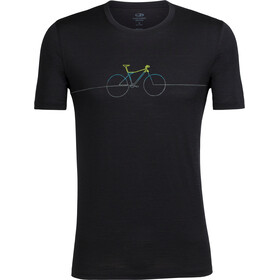 Icebreaker M's Tech Lite Cadence SS Crewe Shirt black